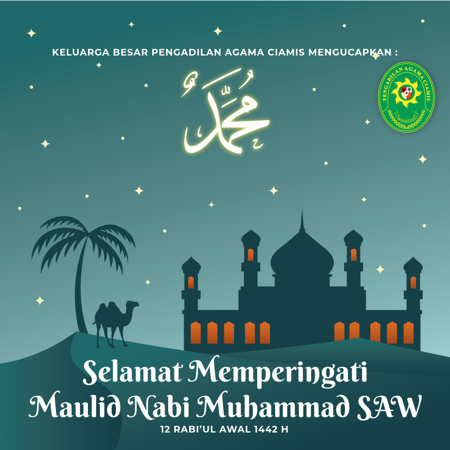 Memperingati Maulid Nabi Muhammad SAW 1442 H.